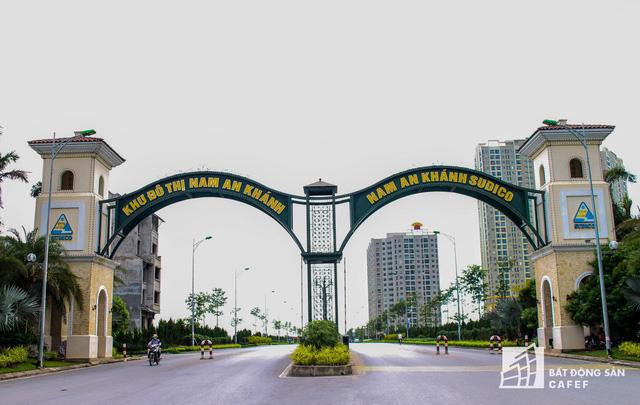 Khu đô thị Nam An Khánh của chủ đầu tư Sudico