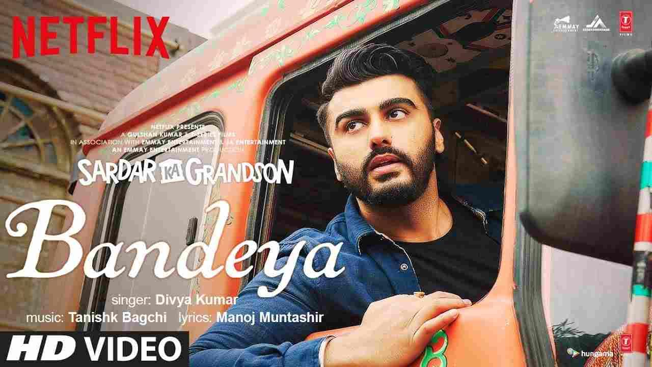 बन्देया Bandeya lyrics in Hindi Sardar ka grandson Divya Kumar Hindi Bollywood Song