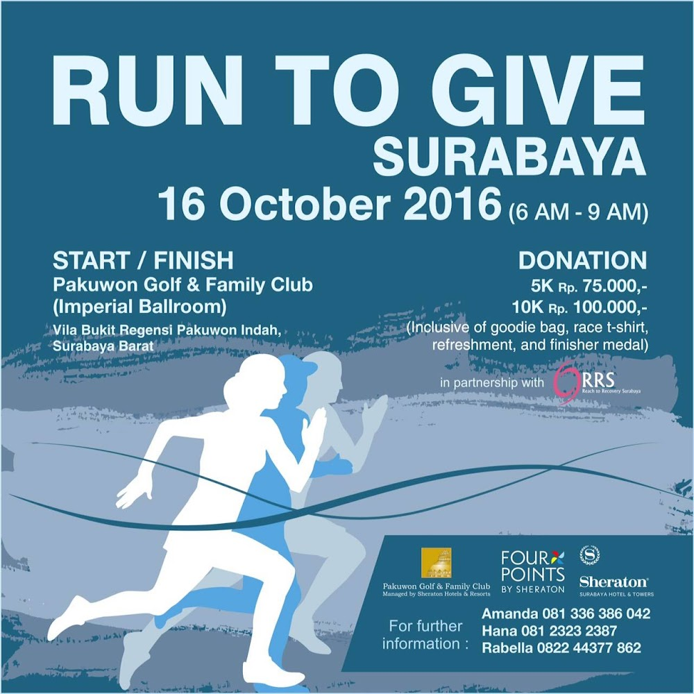 Run to Give 2016 Surabaya