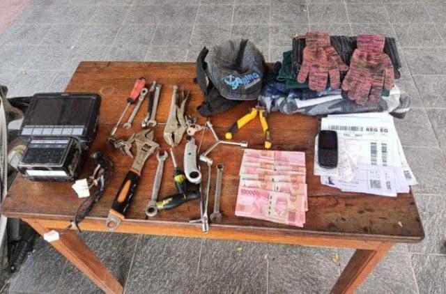 Polisi Tangkap Pelaku Spesialis Curat di BTN Kolam Sentani