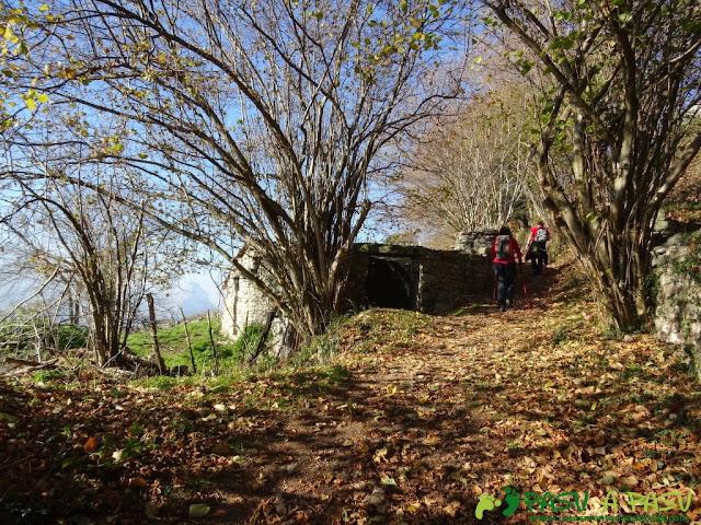 Cabaña en el camino al Paisanu
