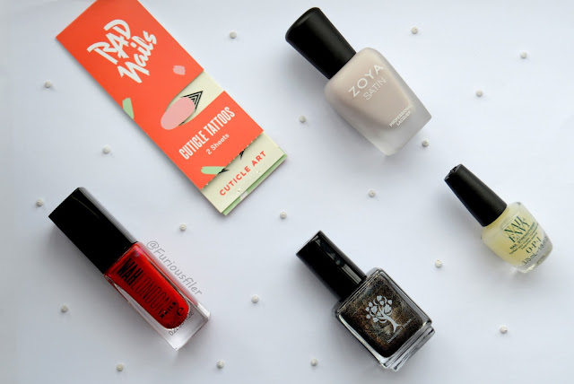 nail subscription box meebox holo review furious filer