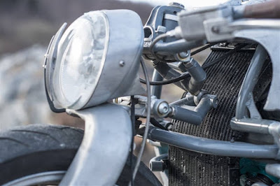 Yamaha GTS 1000 Custom Front light