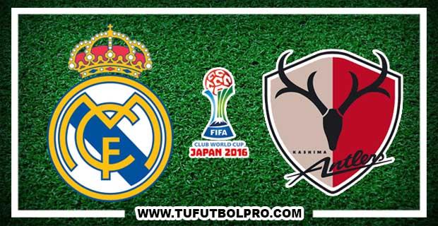 Ver Real Madrid vs Kashima EN VIVO Por Internet Hoy 18 de DIciembre 2016