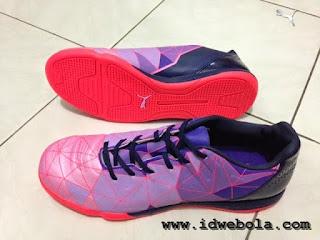 Sepatu Futsal Puma Evopower Ungu