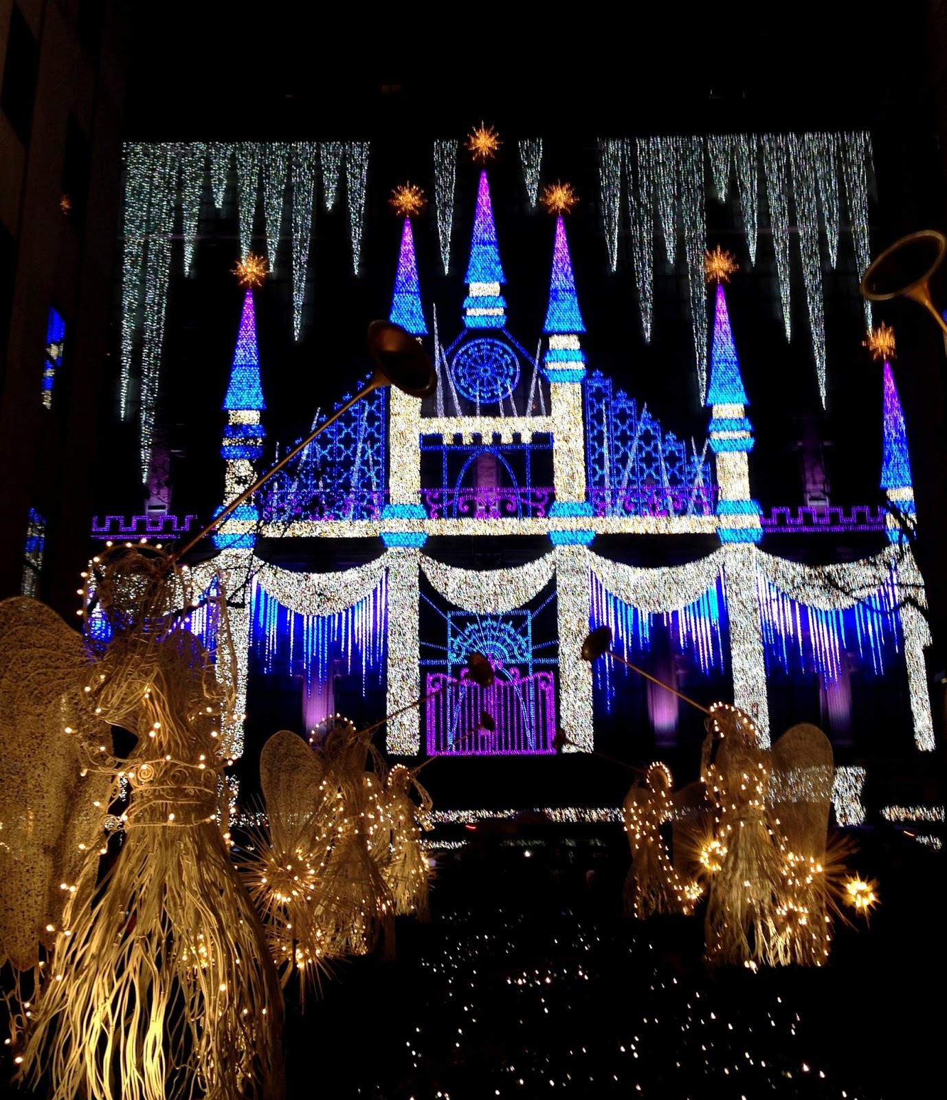 Good Saks Fifth Avenue Lights Show In Rockefeller Center, New York City Design Inspirations