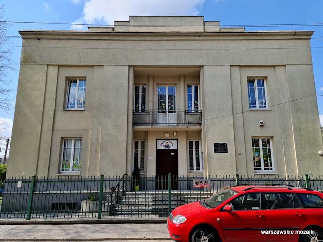 Warszawa Warsaw modernizm architektura architecture Nowe Włochy miasto ogród wille kamienice szpital powstańczy 1944
