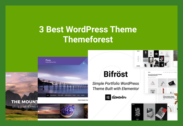 Best WordPress Theme Themeforest