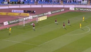 اهداف مباراة النصر والرائد (2-0) الدورى السعودى