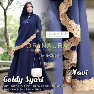 Goldy Syar'i by Ori Naura