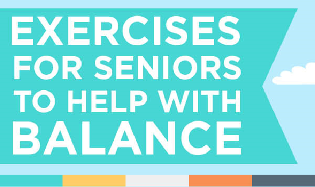 Exercises for Seniors to Help with Balance #infographic