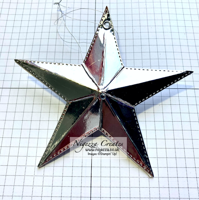 Stamp Around UK December Video Hop: Star Tree Decoration