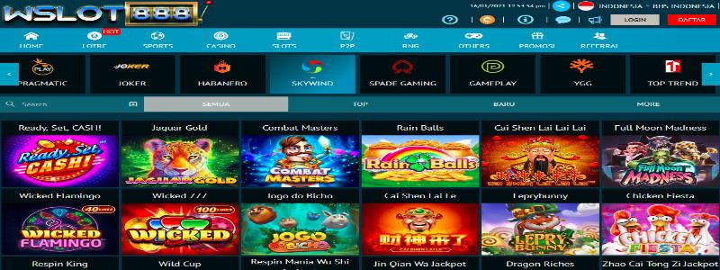 Wslot888 Situs Slot Skywind Bank Bri 24 Jam