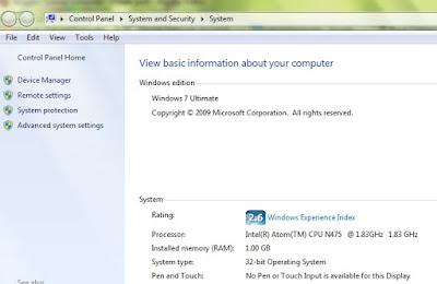 Cara Melihat Spesifikasi Laptop atau Personal Komputer (PC), tutorial cara melihat spesifikasi komputer, cara mengetahui spek komputer, panduan melihat spesifikasi komputer