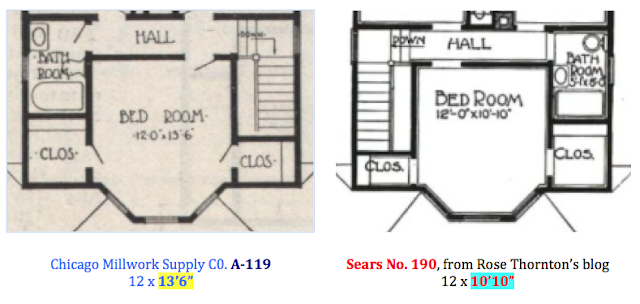 catalog image of floor plan sears 190