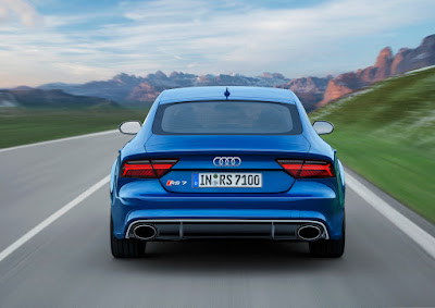 Audi RS7 Performance rear look HD Photos