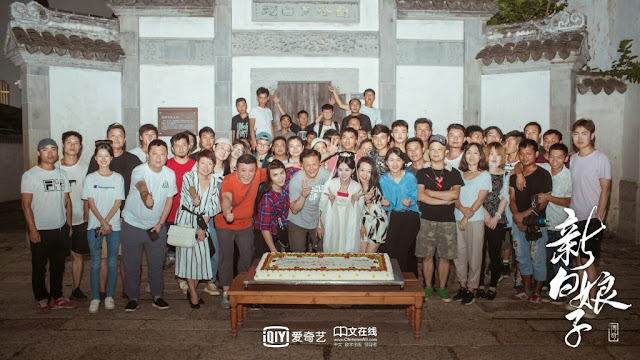 Legend of the White Snake Wrap Filming