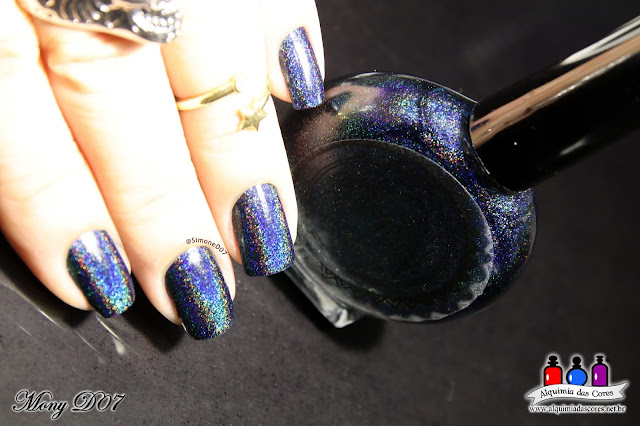 POP Polish, Rum Raisin, Holográfico, Azul Marinho, Fall Holo Collection,