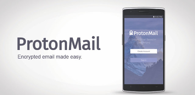 ProtonMail ProtonMail إنشاء حساب