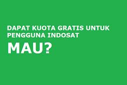 8 Cara Mendapatkan Kuota Gratis Indosat Ooredoo Terbaru