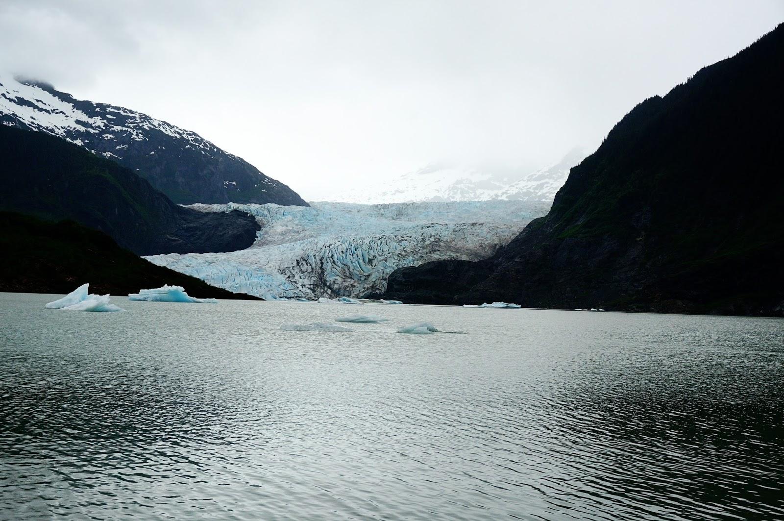 mendenhal glacier alaskan cruise review