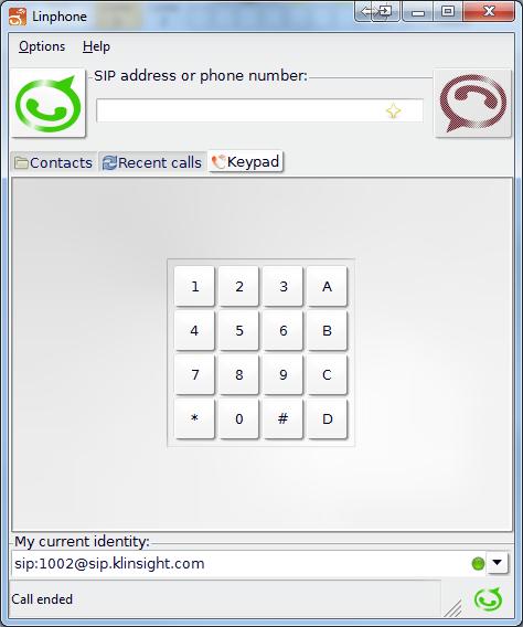 SIP Voip Multiline Client