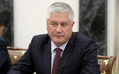 Interior Minister Vladimir Kolokoltsev