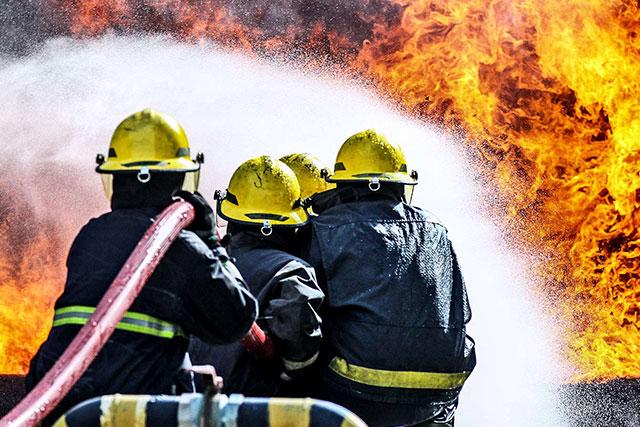 Pemadam Kebakaran di Palangka Raya