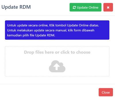 Menu Update 2 Madrasah