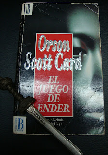 Portada del libro El juego de Ender, de Orson Scott Card