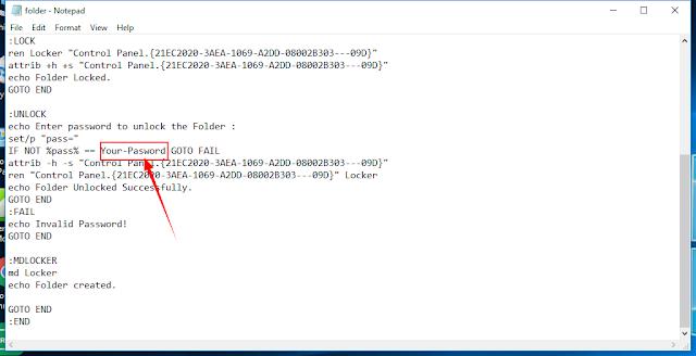 Folder par password kaise lagaye in hindi ?