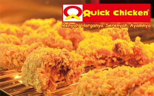 Daftar Harga Menu Quick Chicken Terbaru 2017