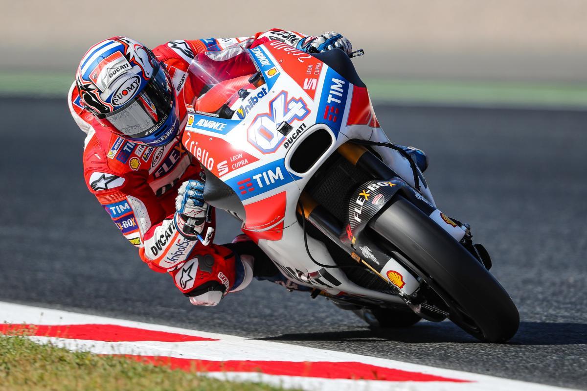 Andrea Dovizioso Menang di Catalunya