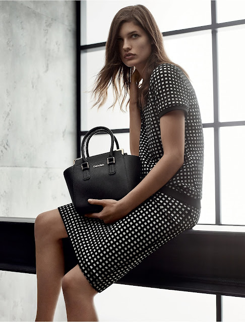 Julia van Os for Calvin Klein White Label Spring/Summer 2016 Campaign