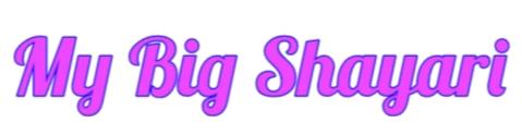 My Big Shayari | New Collection Shayari in Hindi & English