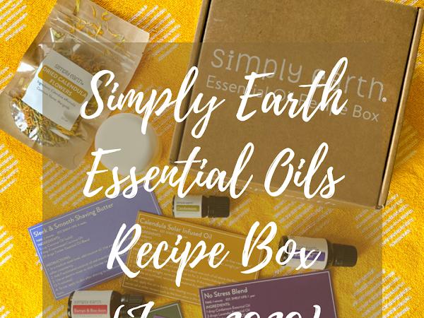 Simply Earth Essential Oils Recipe Box {June 2020}