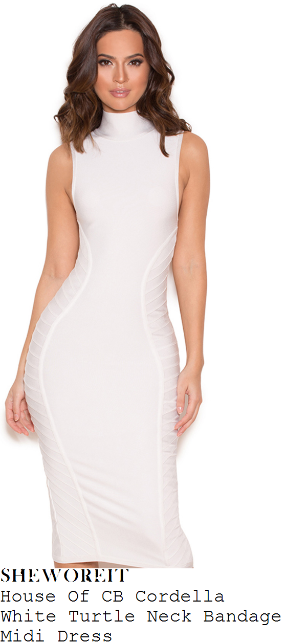 lauren-pope-house-of-cb-cordella-bright-white-sleeveless-high-turtleneck-side-panel-detail-bodycon-bandage-midi-dress