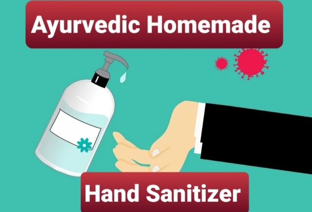 Ayurvedic Homemade Hand Sanitizer