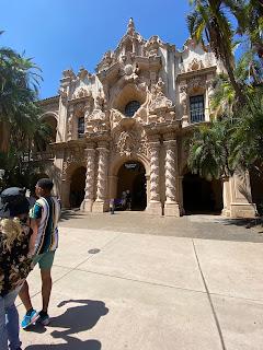 Balboa park, Balboa park San Diego