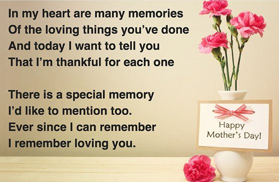 Best Mother in the World Poems Quotes Good Mom Poem on Mother's Day 2016