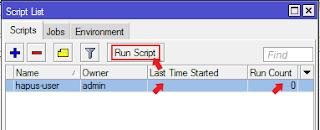 Script Hapus User Hotspot