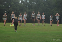Swift Creek girls cross country team
