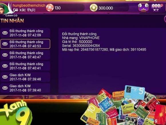 Triệt phá đường dây đánh bạc kiểu Rikvip - Game bài online