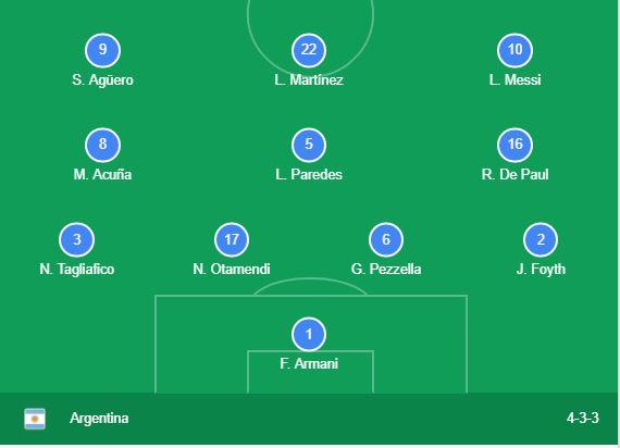 ARGENTINA vs VENEZUELA_Goal