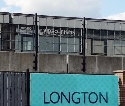 Video shop in Longton, Stoke-on-Trent.