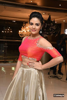 Anchor-Srimukhi-Stills-at-Gentleman-Movie-Success-Meet