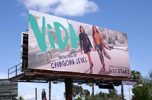 Vida season 2 billboard