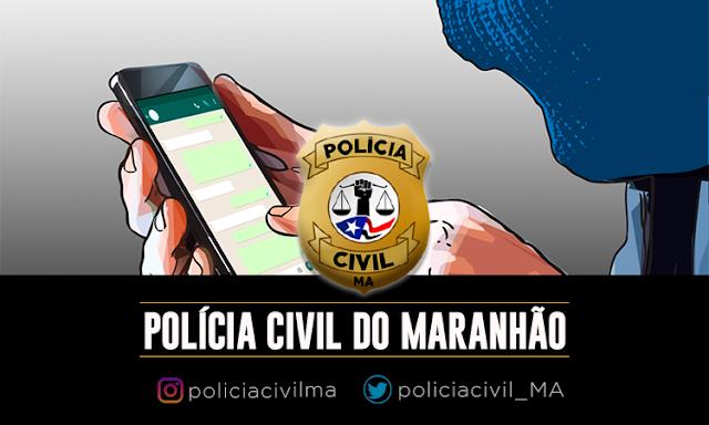 POLÍCIA CIVIL PRENDE HOMEM QUE AMEAÇAVA EX-COMPANHEIRA ATRAVÉS DE REDE SOCIAL EM BALSAS