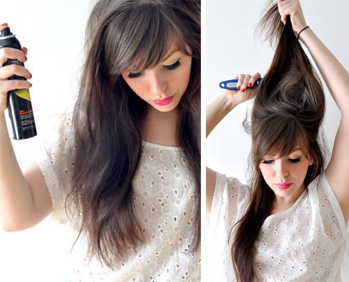 Love My Hairstyle Voluminous Braided Up Do