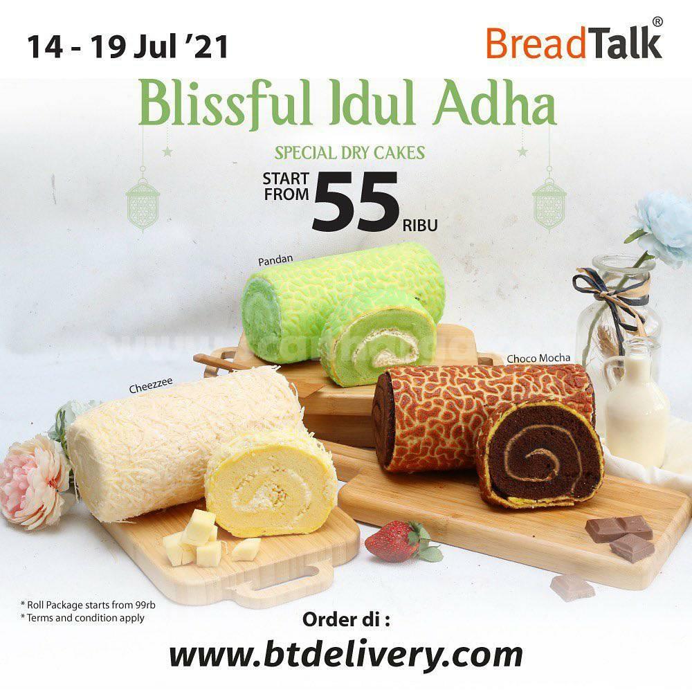 BREADTALK Promo Blissful IDUL ADHA (Special Dry Cake) harga mulai 55 Ribu